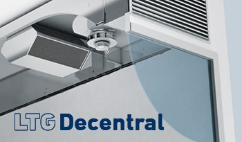 LTG Decentral: Flexible Decentralised Ventilation Units, unique flexibility