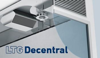 LTG Decentral: Flexible Decentralised Ventilation Units, unique flexibility