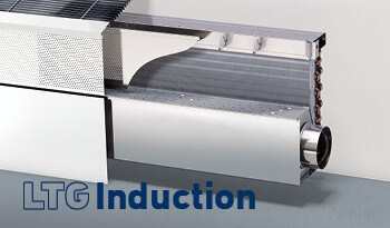 LTG Induction: Induction Units of the latest generation, high heating / cooling outputs, quiet, low in maintenance, LTG SmartFlow