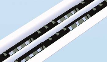LTG Linear Diffuser LDB 20/8 , comfortable, efficient and attractive