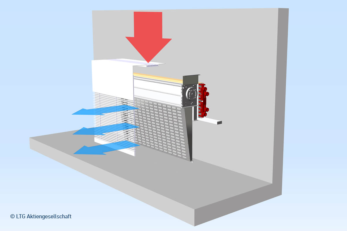 Ltg Displacement Fan Coil Unit For Sill Installation Qvc