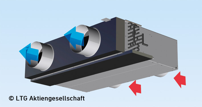 Dimensioning Tool Fan Coil Unit Vke English Image