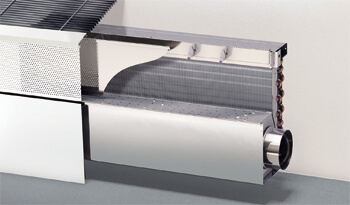 Air-Water-Systems LTG Induction Units, Fan Coils and Dec. Ventilation Units, optimum room climate, efficient and comfortable