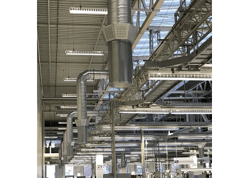 Industrial air diffuser ILQ sf <br>LTG System Smart Flow