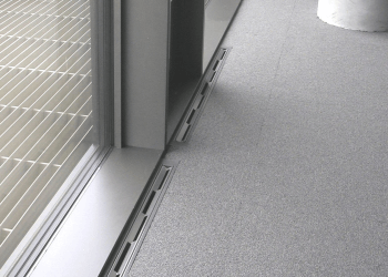 Linear Diffuser LDU <br> floor installation