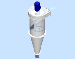 New LTG product: Cyclone / Centrifugal Separator Type ZSV