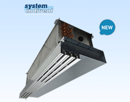 Draft-free air conditioning with integrated ceiling system solution