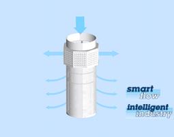 Industrie-Luftdurchlass ILQsf: Wie man Industriehallen effizient lüftet …