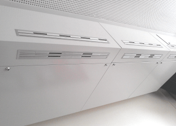 Decentralised Unit <br> FVS Eco2School ceiling installation