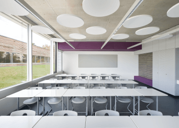 Decentralised Unit<br>FVS Eco2School ceiling installation