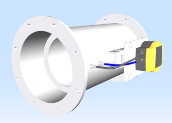 Volumenstrom-Messeinrichtung MSE