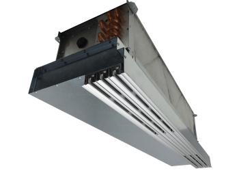 Ventilatorkonvektor-/Schlitz-<br>auslasskombination VKL <br>Deckeneinbau