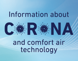 Operation of air conditioning systems in Corona times