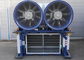 SC03-Fahrzeugtest <br><br>Fahrtwind-Simulatoren VRSF/VAF